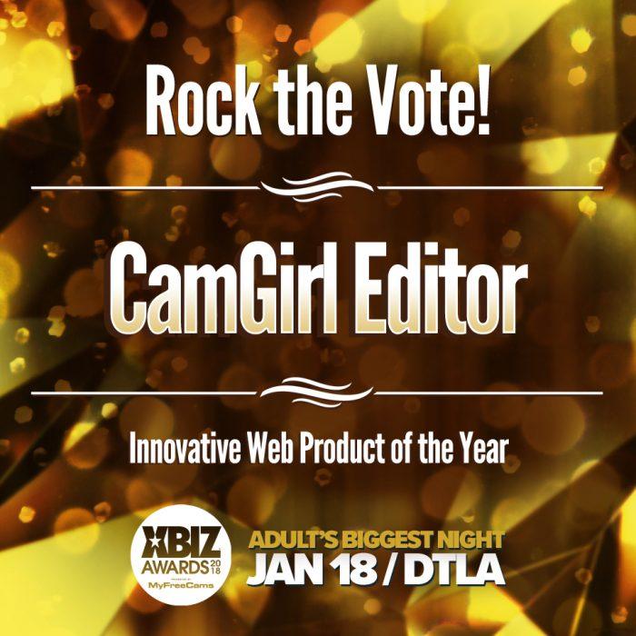 CamGirl Editor - XBIZ 2018 AWARDS