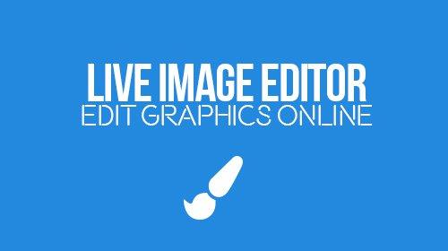 Live Image Editor